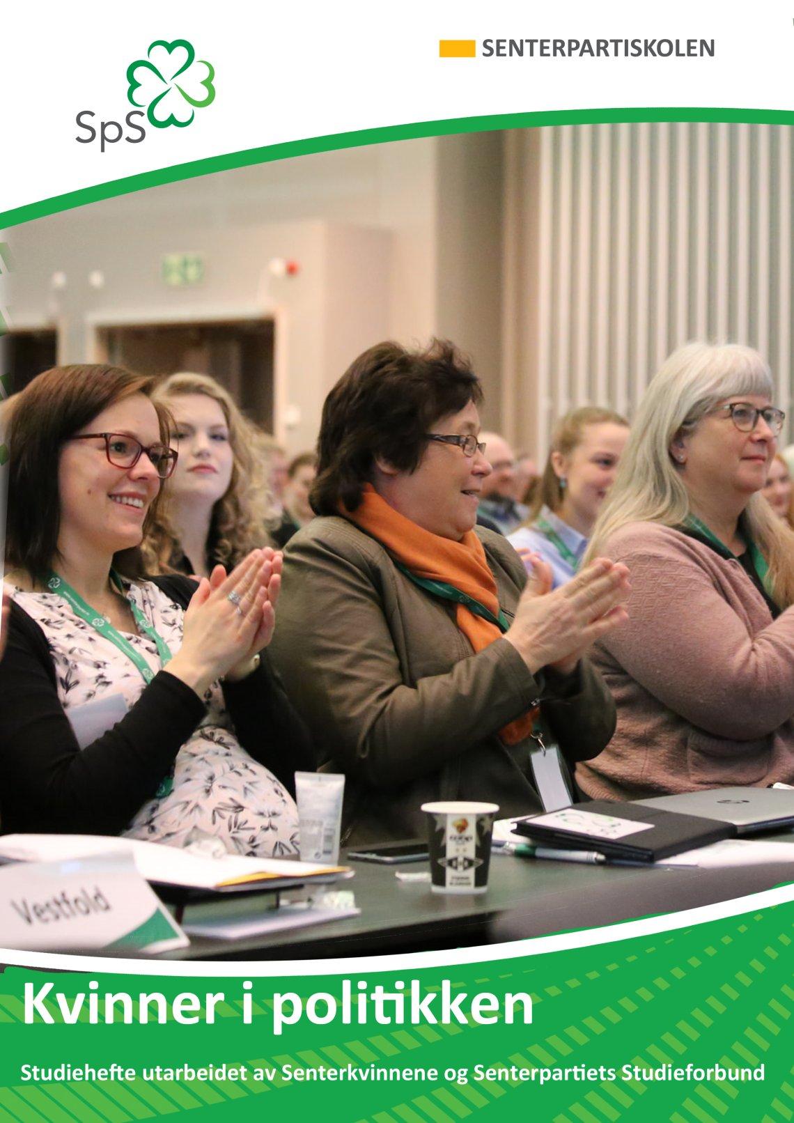 Studieheftet Kvinner i politikken